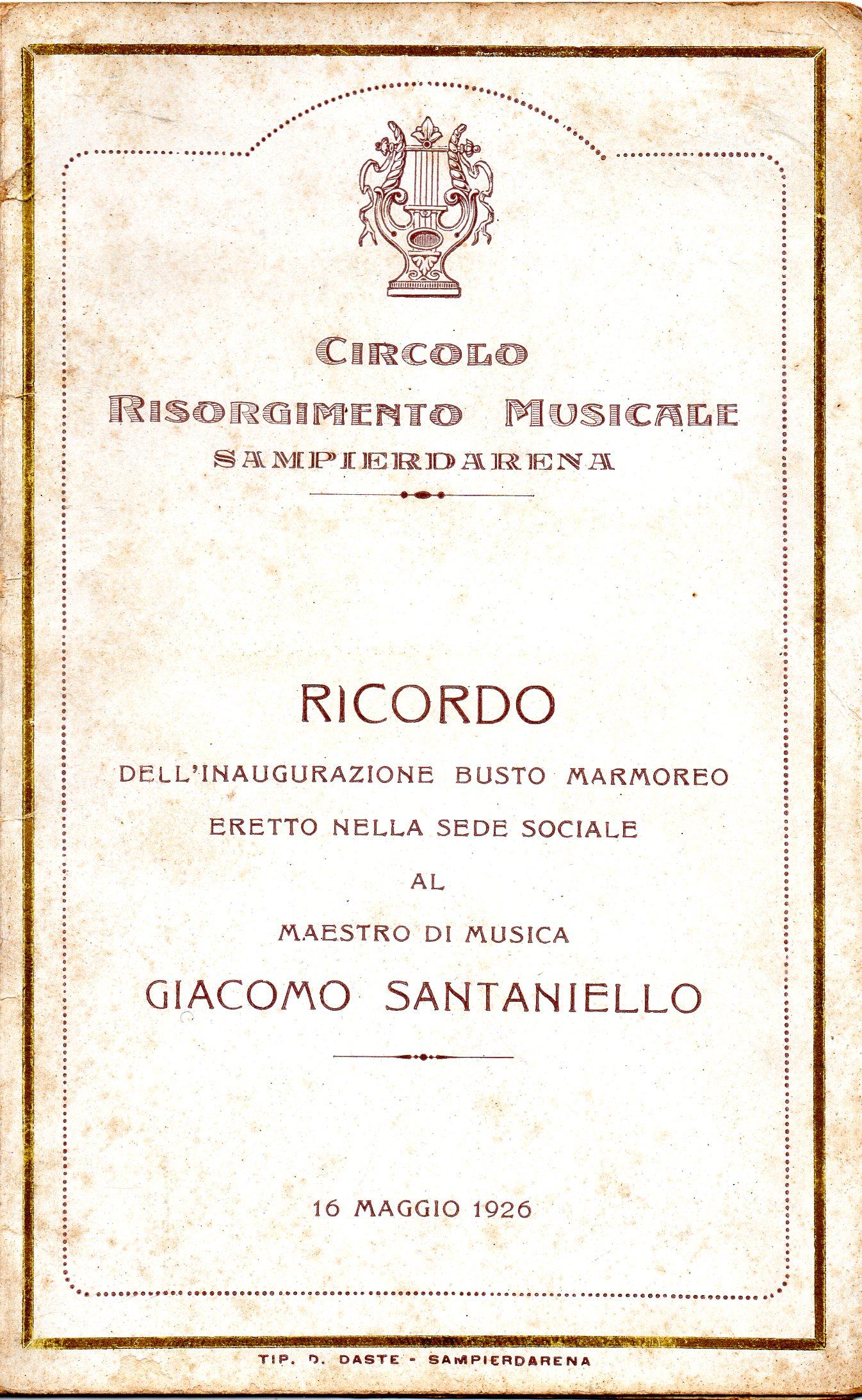 CIRCOLO RISORGIMENTO MUSICALE