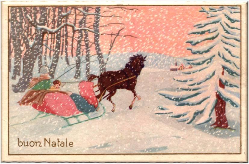 Ben noto Letterine di Natale e cartoline di auguri del passato   Dear Miss  OH22