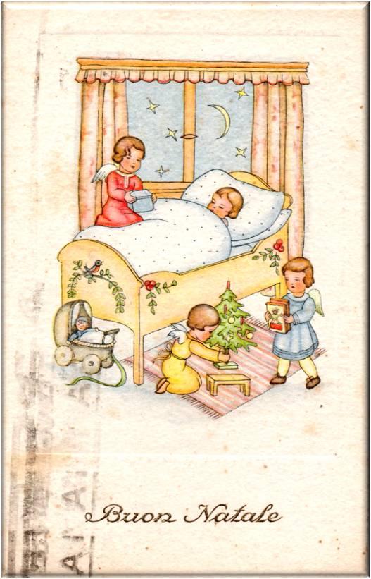 Favorito Letterine di Natale e cartoline di auguri del passato   Dear Miss  HY77