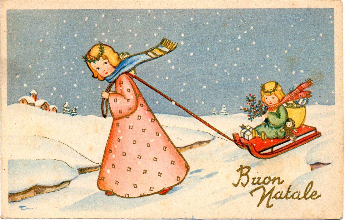 Favoloso Letterine di Natale e cartoline di auguri del passato   Dear Miss  DG39
